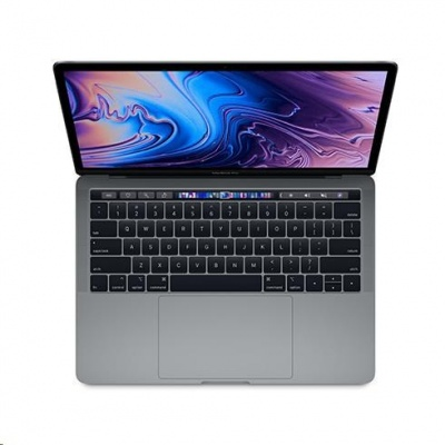 APPLE 13-inch MacBook Pro with Touch Bar: 2.3GHz quad-core 8th-gen. IntelCorei5, 512GB - Space Grey