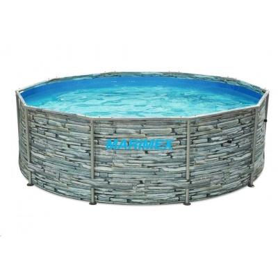 Marimex Bazén Florida 3,05x0,91 m bez filtrace - motiv KÁMEN