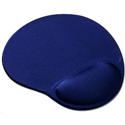 OEM Podložka pod myš gelová (tmavě modrá, ergonomická)