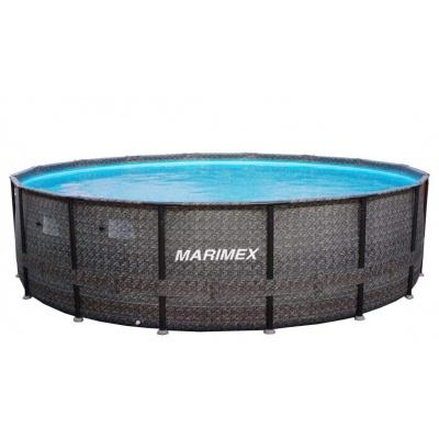 Bazar - Marimex Bazén Florida Premium 4,88x1,22 m bez filtrace - motiv RATAN - poškozený obal