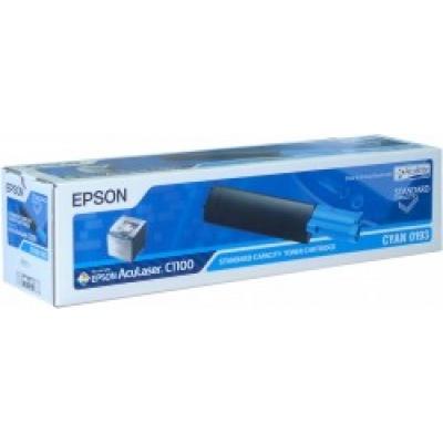 EPSON Toner bar AcuLaser C1100/C1100N/CX11N - Cyan (1500 stran)