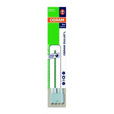 OSRAM zářivka DULUX L kompaktní  230V 18W 840 2G11 noDIM A Sklo matné 1200lm 4000K 20000h (krabička 1ks)